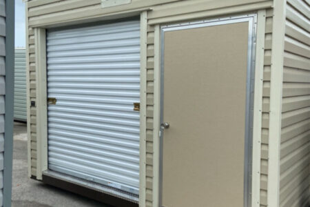 12x8 LumberJack Roll Up Door