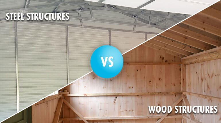 Pros and cons of steel shed